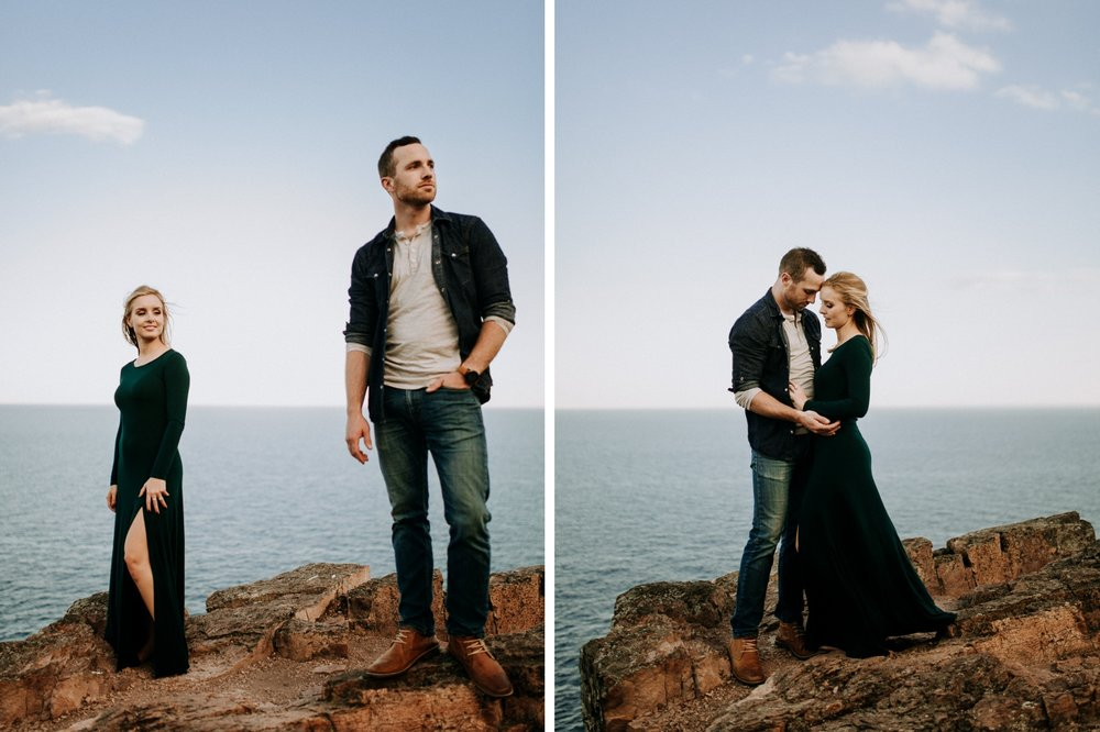 Lake Superior elopement photographer
