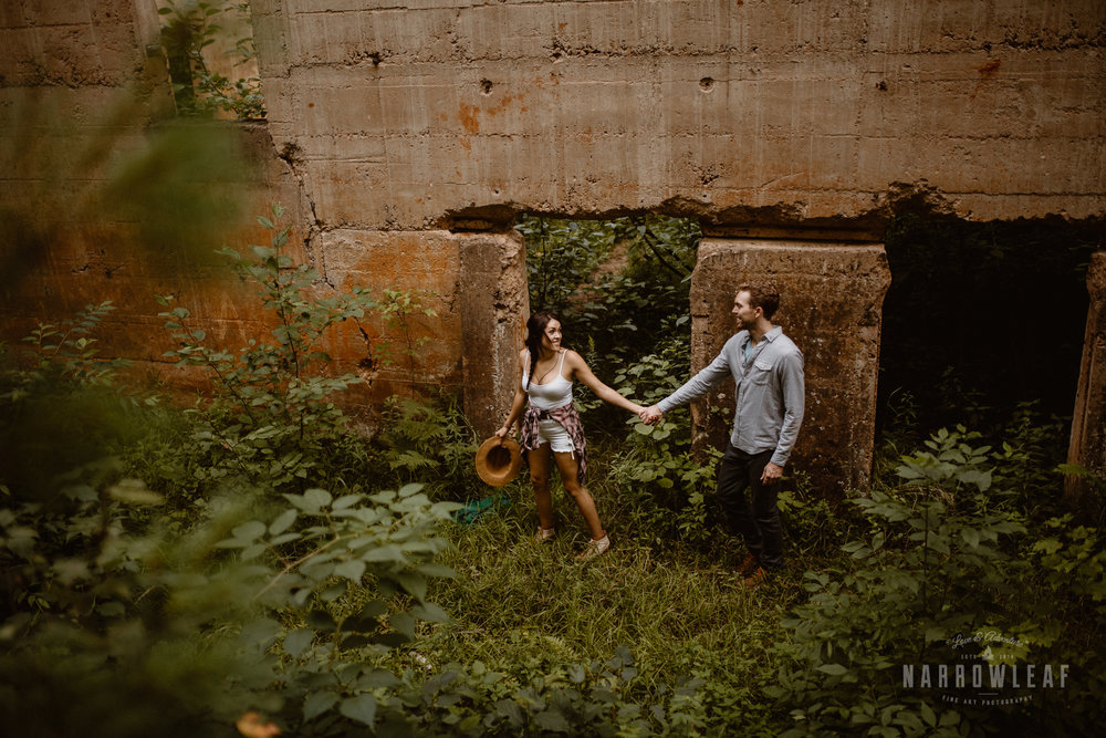 Engagement photos in Sandstone Minnesota