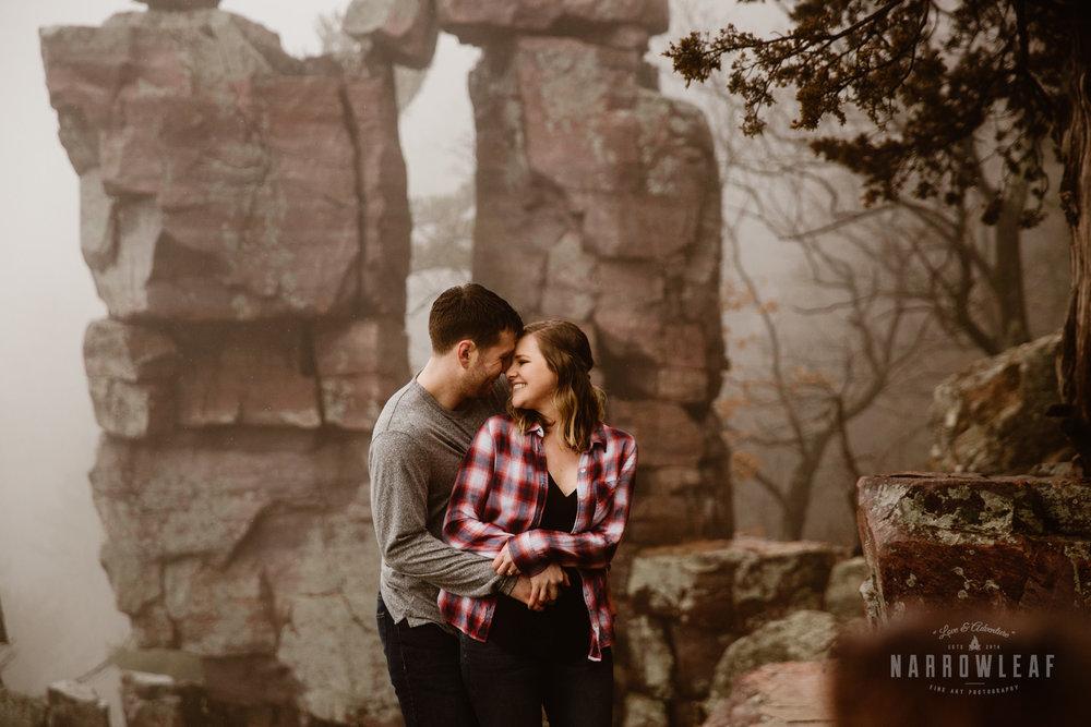 foggy-hiking-engagement-photos-devils-lake-state-park-Narrowleaf_Love_and_Adventure_Photographer-3790.jpg