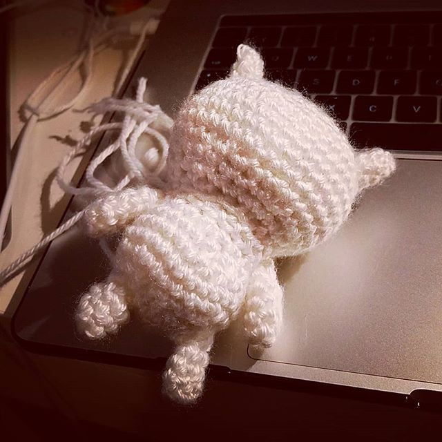 Prototyping a crochet pattern of my own, yikes...what's it gonna be? #amigurumi #robbinyarns #crochet