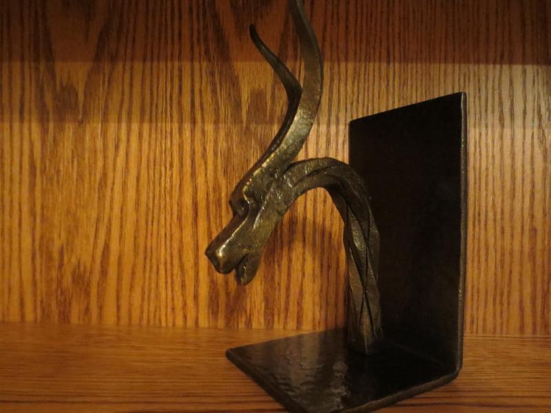 A Dragon Head Book End