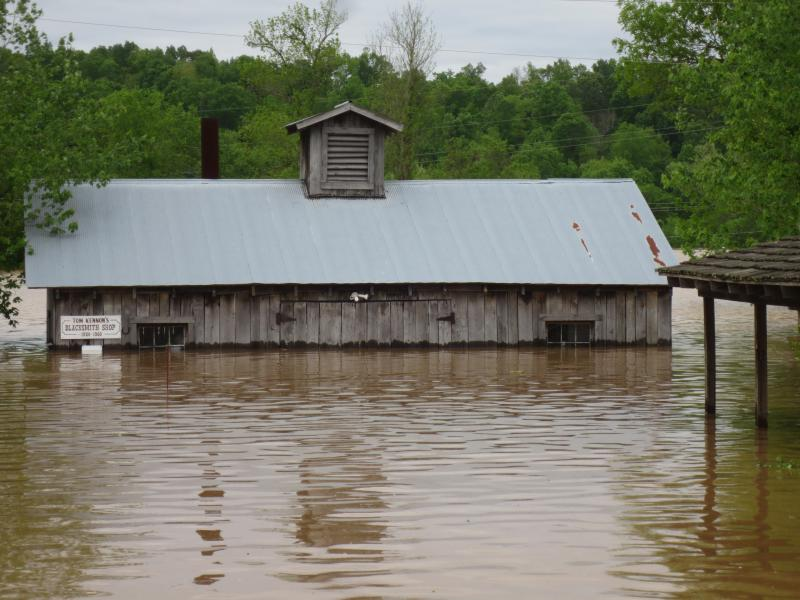 WE ARE MOSTLY RECOVERED FROM OUR FLOOD DISASTER. IN EARLY MAY, 2017. THE CURRENT RIVER VALLEY EXPERIENCED AN HISTORIC FLOOD WHEN THE RIVER CRESTED NEARLY 7 FEET ABOVE THE ALL TIME RECORD. -