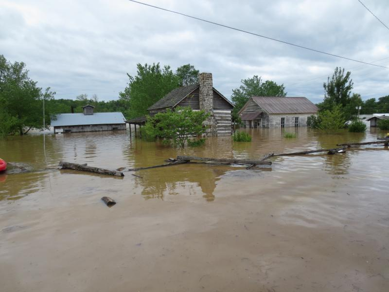 In May, 2017, the Current River Inundated the Entire Homestead with 4-5 Feet of Floodwater. Through the effort of donors and volunteers, the Buildings are now mostly repaired but still need some work. Would you like to donate or volunteer your time in this project. If so, Call Lynn Maples at 573 996-5298