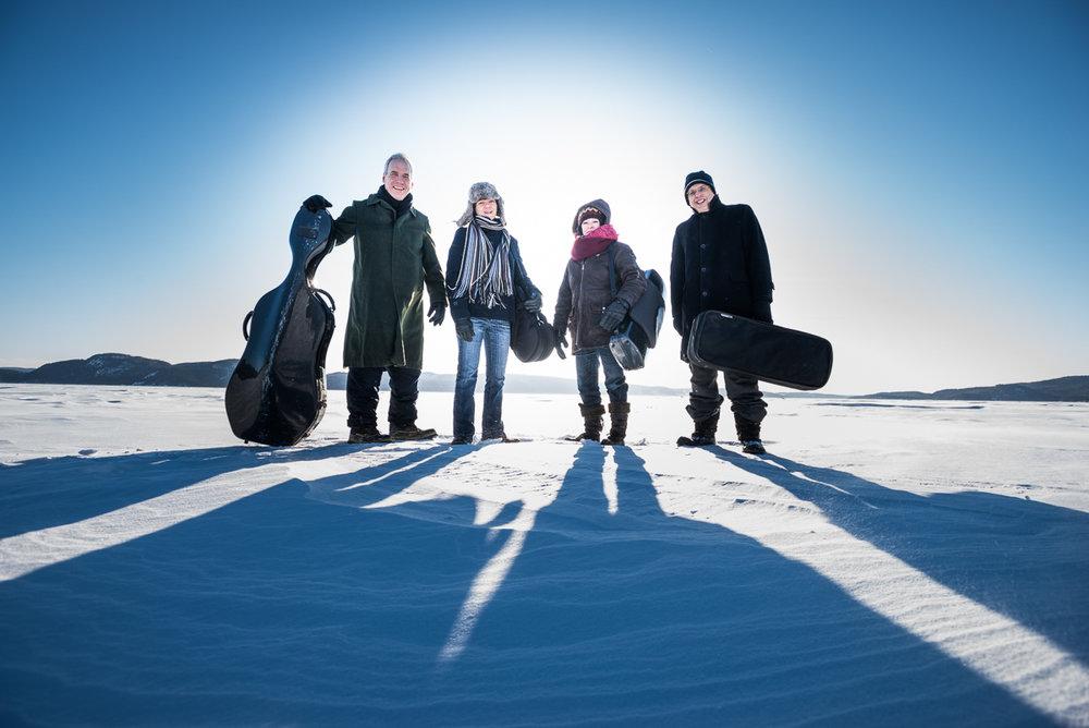 QUATUOR SAGUENAY [ALCAN] string quartet