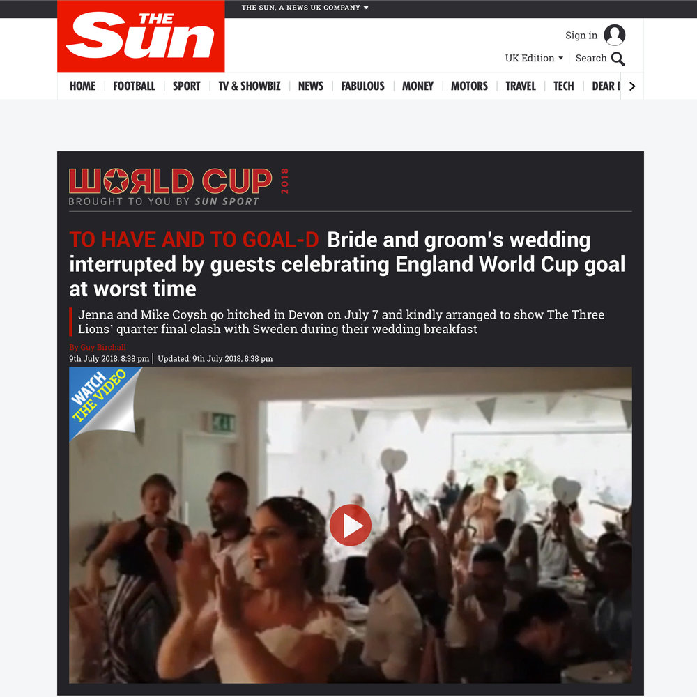 World Cup Clip The Sun
