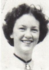 Shirley Wilson, 1952