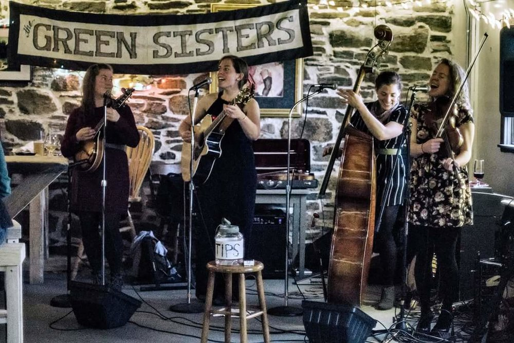 Green Sisters at Homefield Brewing