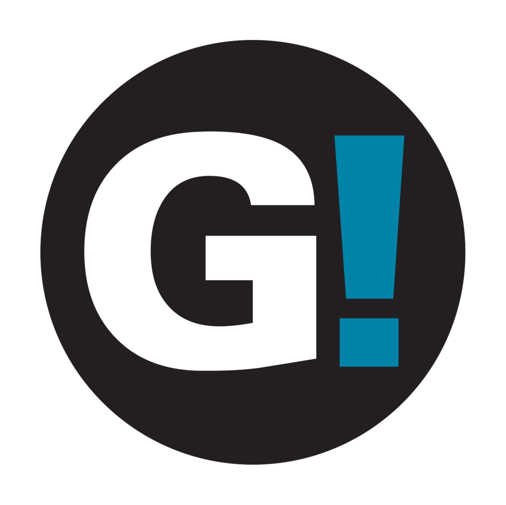 Girl Be Heard Logo - White G!.png