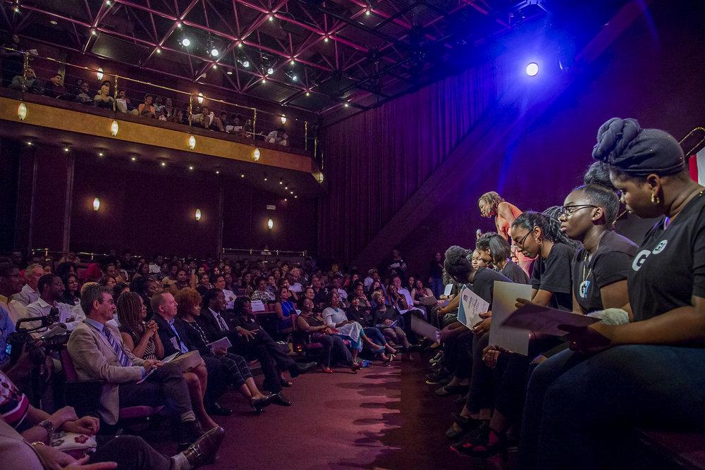 Audience Talk Backs