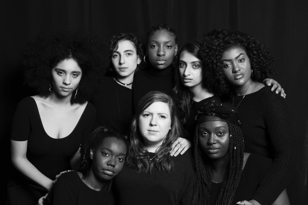 Cast photo from Indivisible Girl Be Heard's Mainstage Show 2018