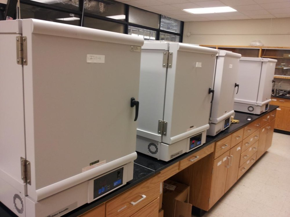 Convection Ovens - Set-point ovens for material syntheses.