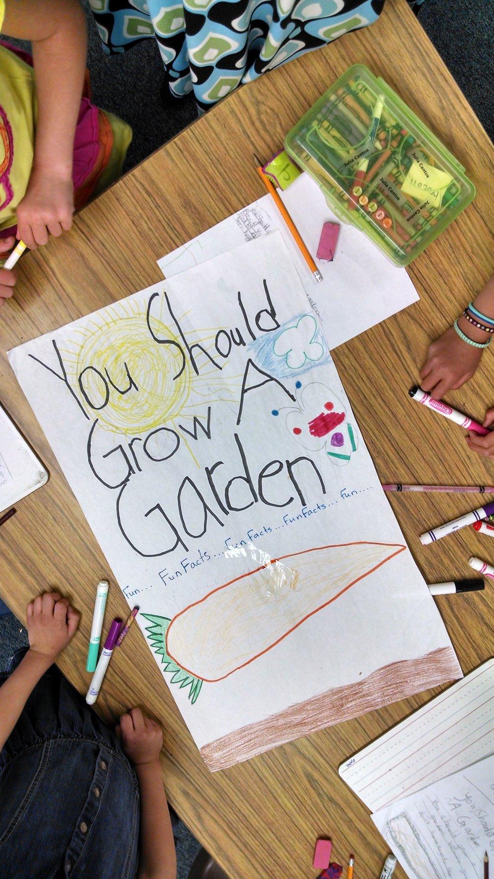 You Should Grow a Garden overhead shot, cute.jpg