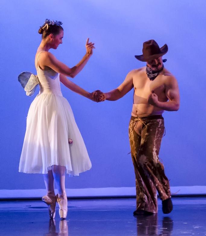Dancers: Diana Jewell & William Mc Neil