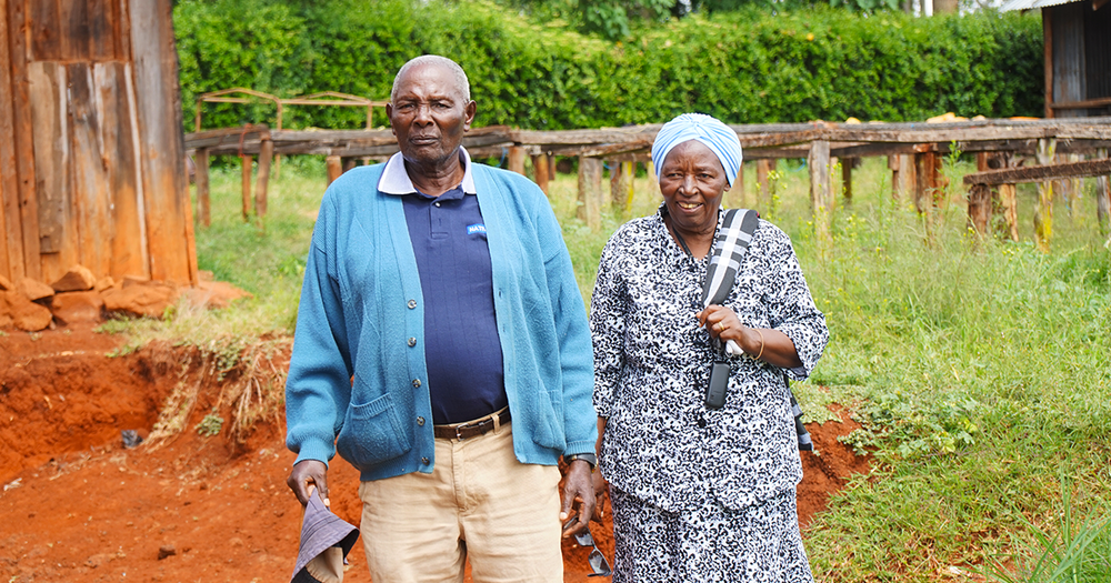 Alice Kiguta and James Mugumo