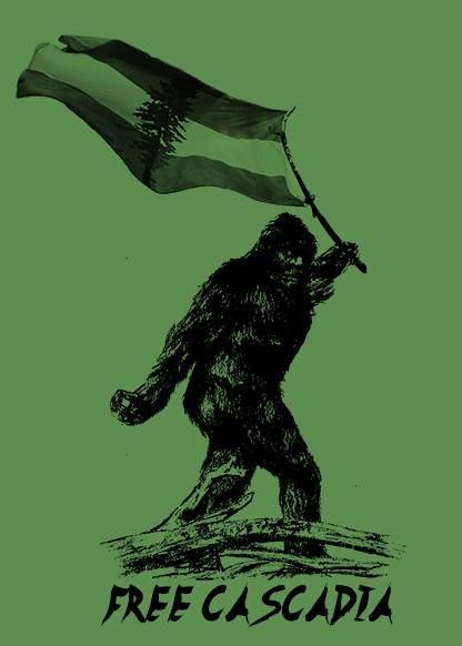 Free Cascadia Sasquatch Poster