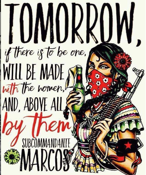 Tomorrow will be made with the Women, and by them