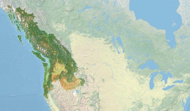 PCNA Cascadia Bioregion Map