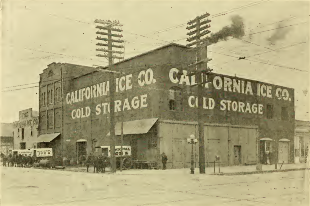 California Ice Co., 2nd & Broadway