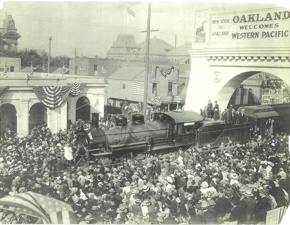 Western Pacific Depot Celebration