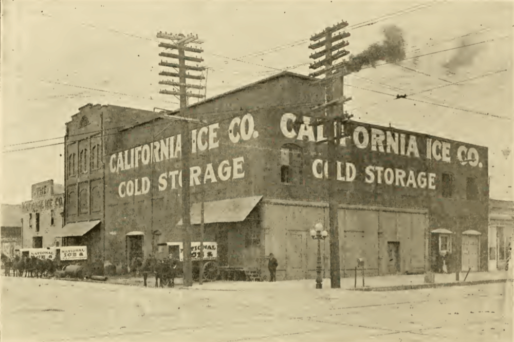 California Ice Company 1911 | Jack London District