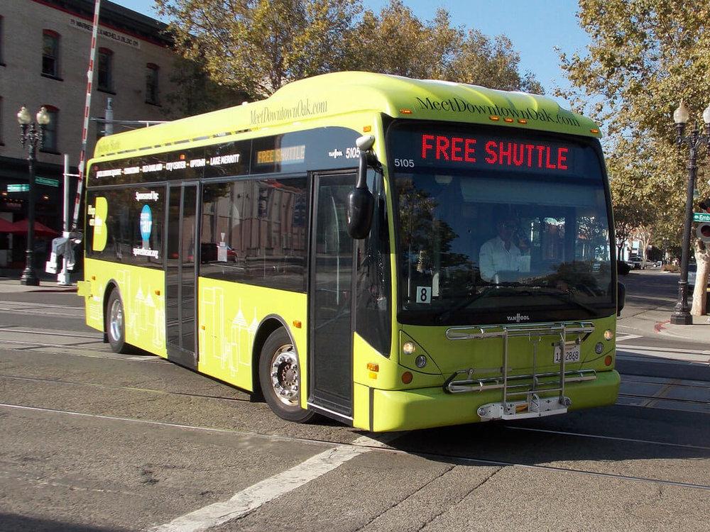 Free Broadway Shuttle Jack London