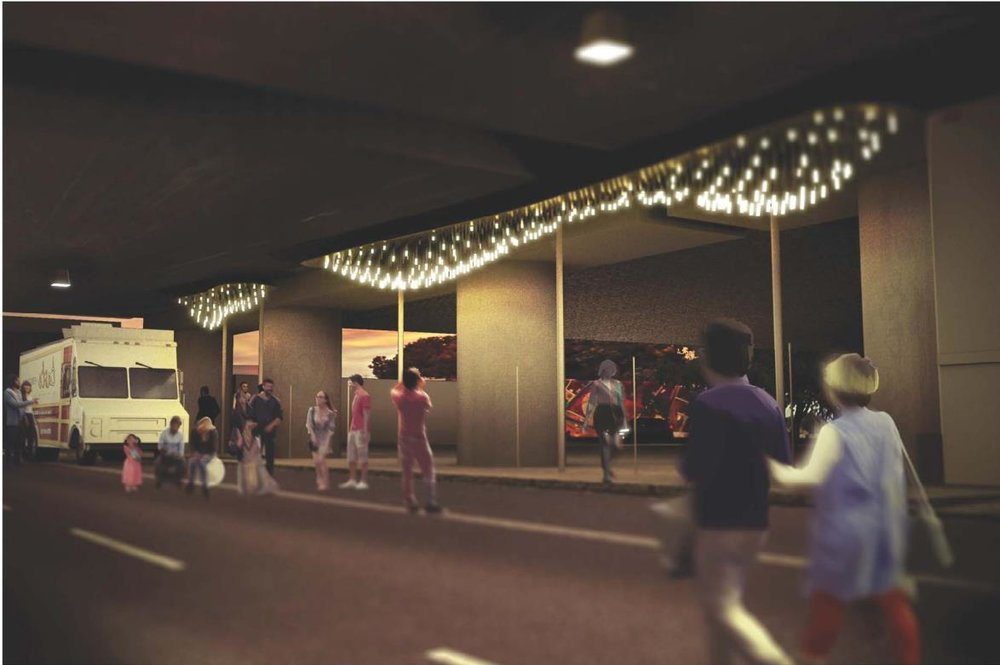 Art Proposal, Madison St. Underpass funded by Fourth St East - Future Cities Lab