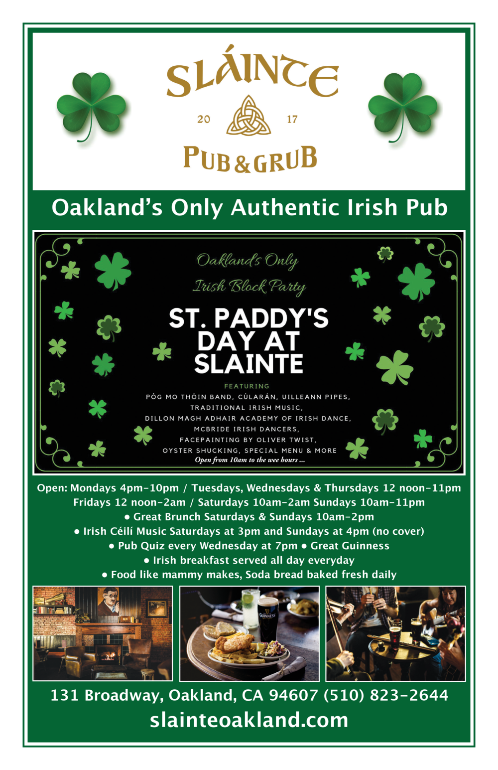 St. Patrick's Day Block Party Slainte 2019.png