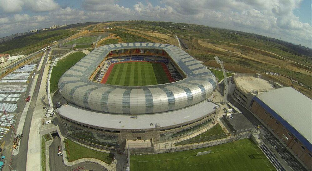 Basaksehir's 'Fatih Terim Stadium' (courtesy of  Arima architects ).