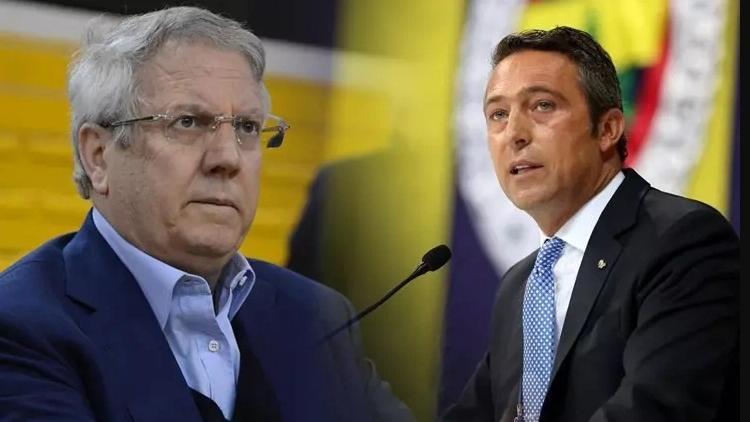 The incumbent Aziz Yildirim (L) and the challenger Ali Koc (R)