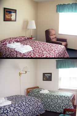 Example of the accommodations at the Fatima House