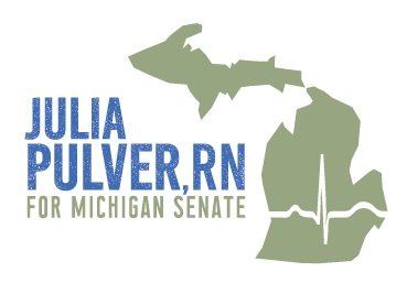 Julia Pulver, RN for State Senate