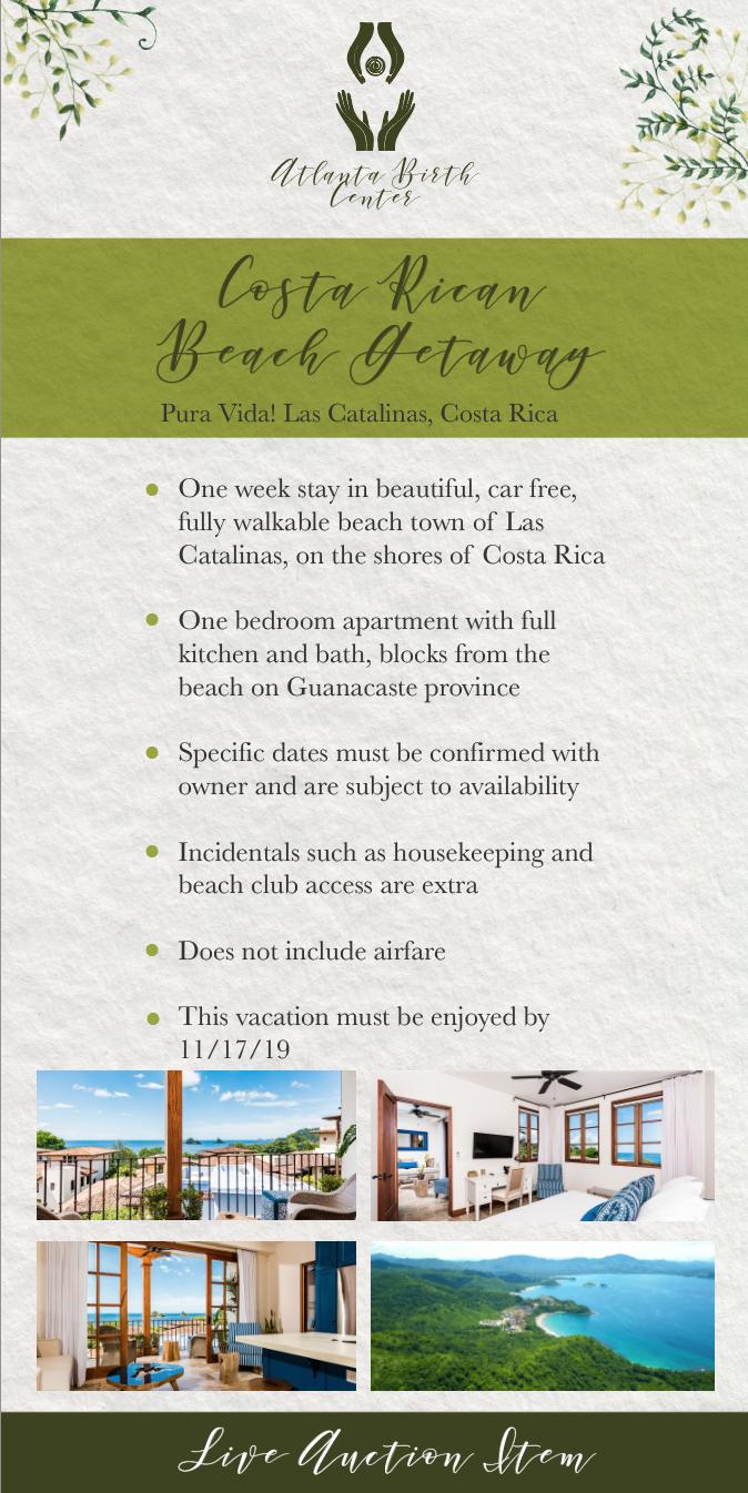 Costa Rican Beach Getaway