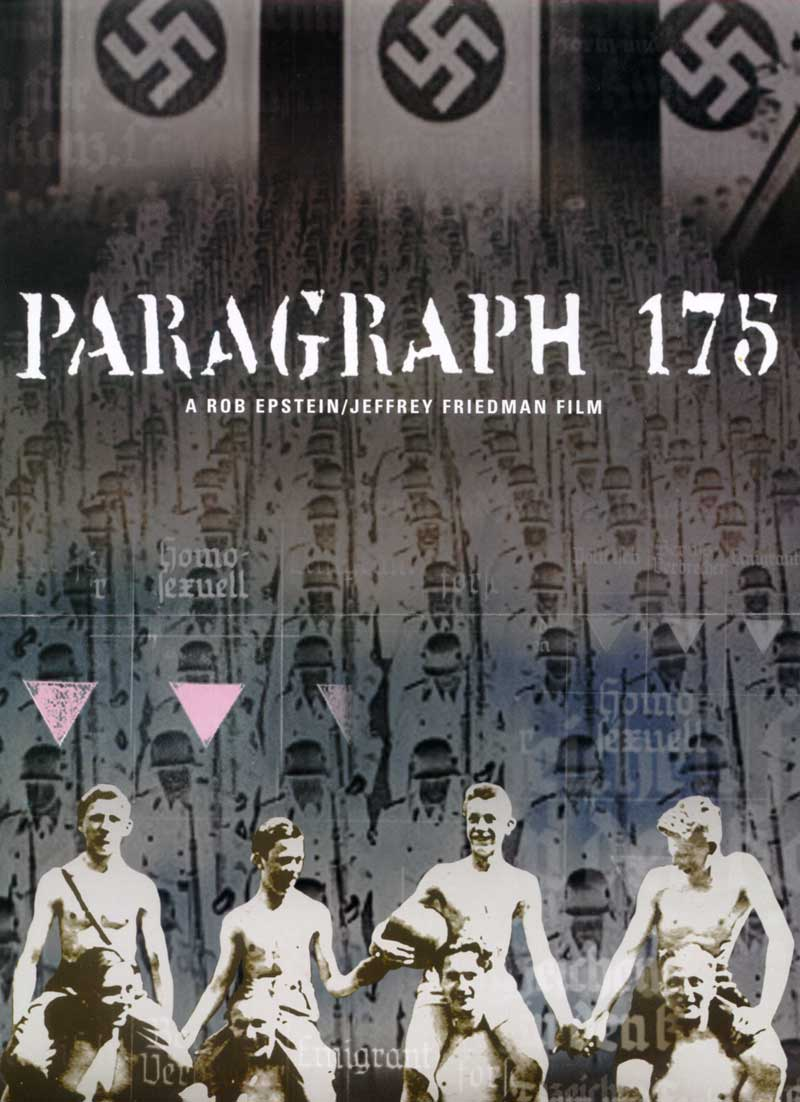 PARAGRAPH 175  (2000)  SECOND EDITOR  SUNDANCE FILM FESTIVAL  HBO