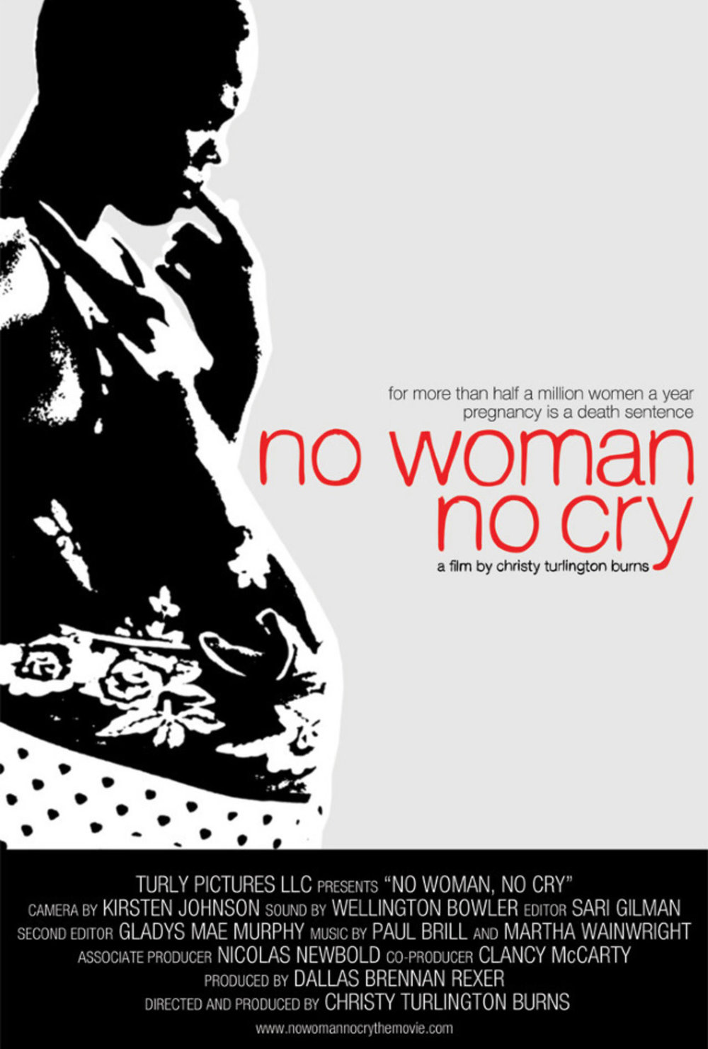 NO WOMAN, NO CRY  (2010)  EDITOR  TRIBECA FILM FESTIVAL  OWN NETWORK