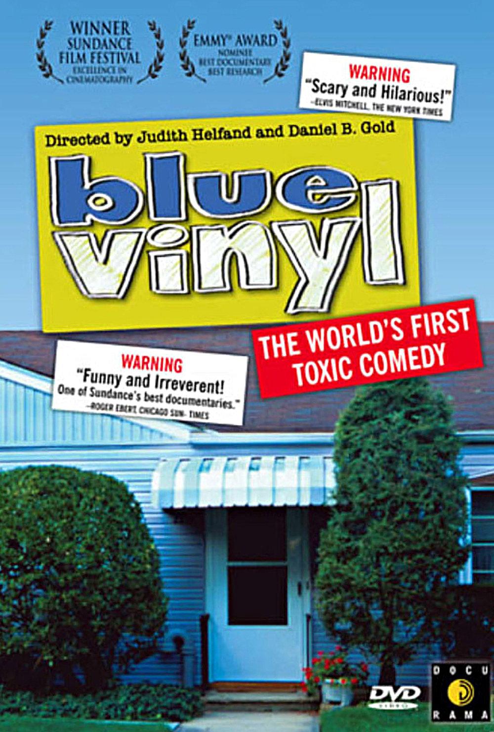 BLUE VINYL (2002) EDITOR SUNDANCE FILM FESTIVAL HBO