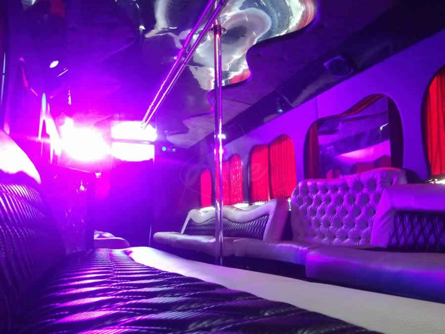 Copy of Party Bus Interior Photo