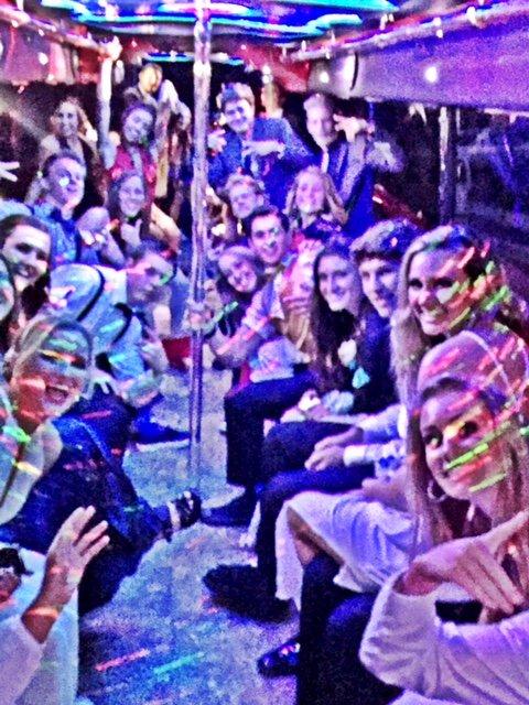 Many-People-In-A-Partybus-Near-La-Jolla-California