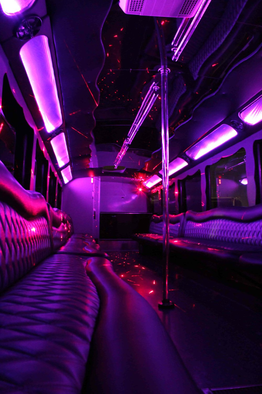 Vertical Long Seat Shot with a Pink to Purple warmth