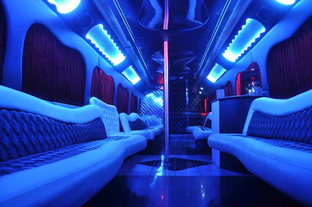 Party Bus Interior Photo