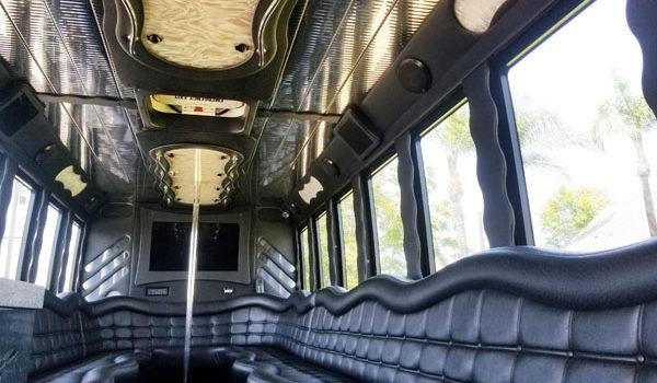 Interior Photo of a Party Bus Service in Scripps Ranch