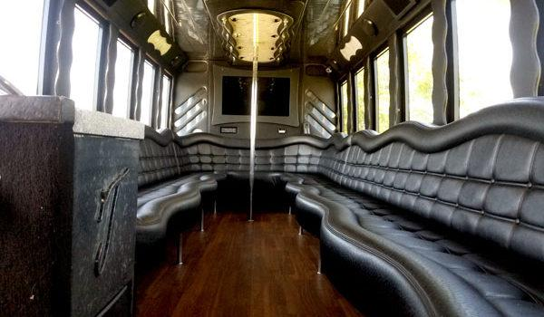 Interior Photo of a Party Bus Tour in and around Chula Vista