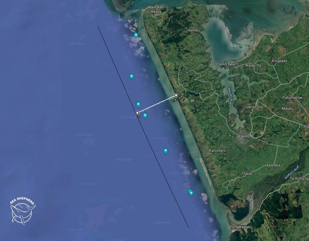 Manukau Maui's shitty little 4nm trawl protection zone