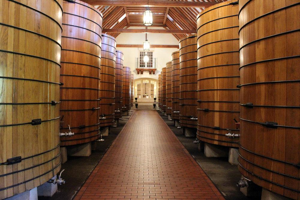 Wine Vats Napa