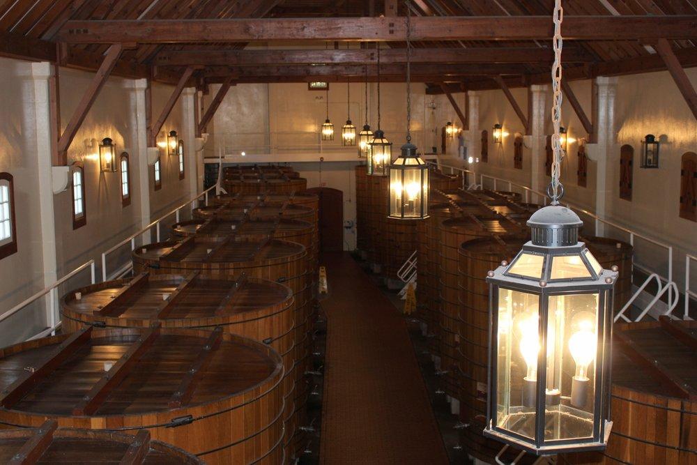 Winery Vats
