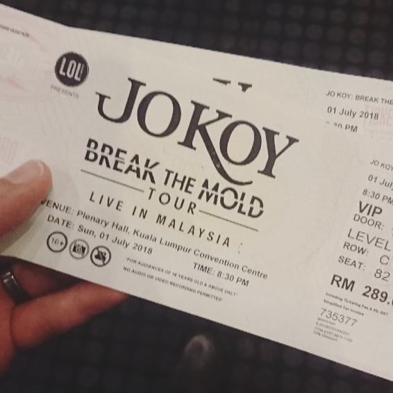 So @jokoy are you ready? Bridges, bridges 🎶🎶 #breakthemoldtour