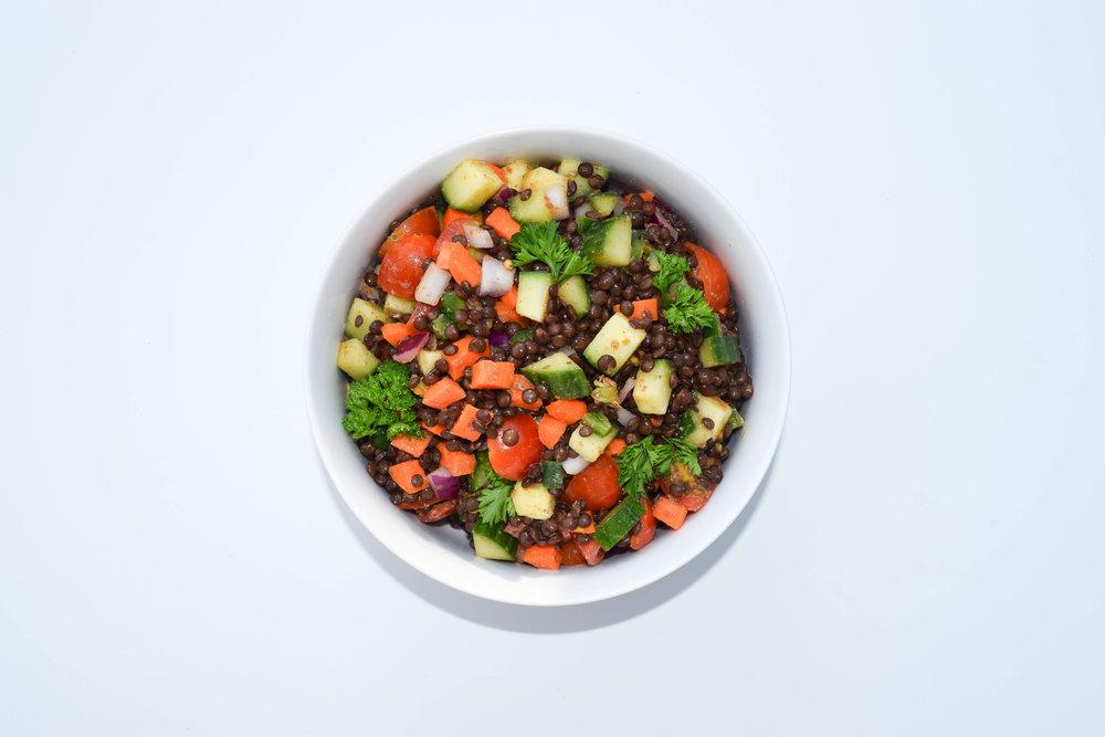 - Lentil Salad