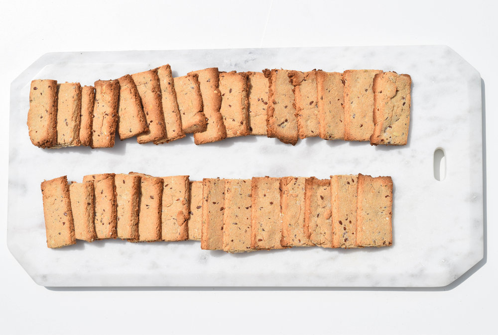 - Peanut Butter + Flax Treats