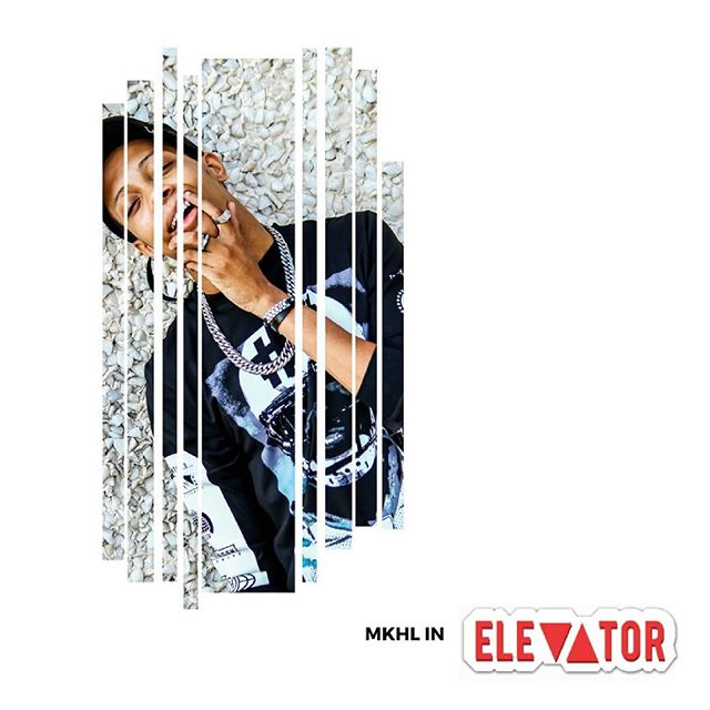 "@mkhlmusic published in elevator magazine with his new music video for ""12 on me""  Link in bio"