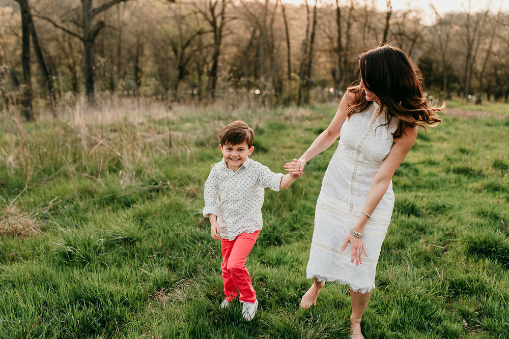 mom dancing with son | St. Louis Lifestyle photography