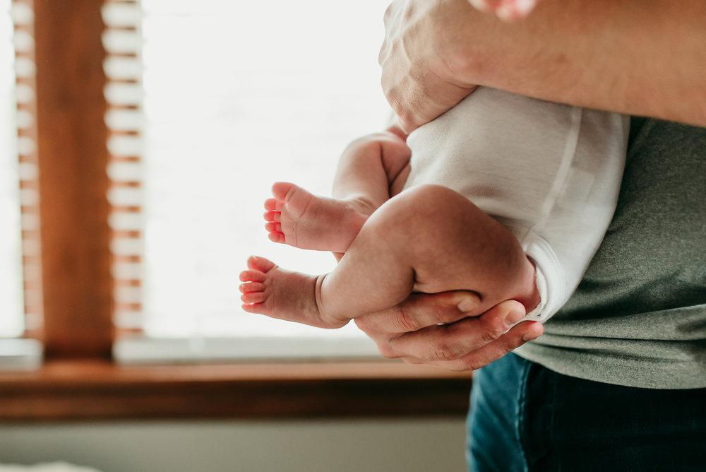 new baby feet